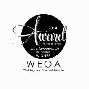 2014 Melbourne Award - Entertainment DJ